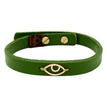 دستبند طلا 18 عیار زنانه مانچو کد bfg195