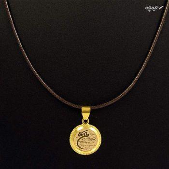 گردنبند طلا 18 عیار زنانه مانچو طرح و ان یکاد مدل sfg640