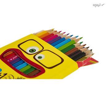 مداد رنگی 12 رنگ آریا مدل 3016