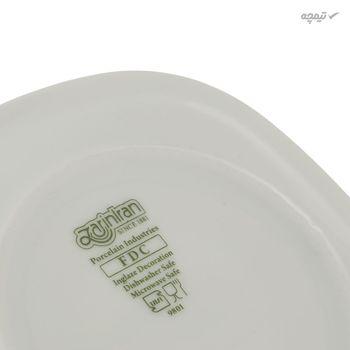 ست فنجان نعلبکی 12 پارچه چینی زرین ایران طرح سلنا کد 100