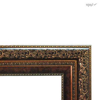 تابلو فرش ماشینی ماندگار طرح کوچه باغ کد 1928A
