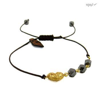 دستبند طلا 18عیار زنانه مانچو مدل bfg141
