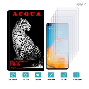 محافظ صفحه نمایش گوشی موبایل آکوا مدل MA مناسب برای هوآوی P40 بسته 5 عددی
