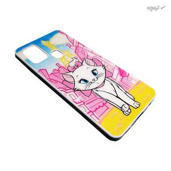 کاور گوشی موبایل طرح گربه کد COD208 مناسب برای گوشی موبایل سامسونگ Galaxy A21s