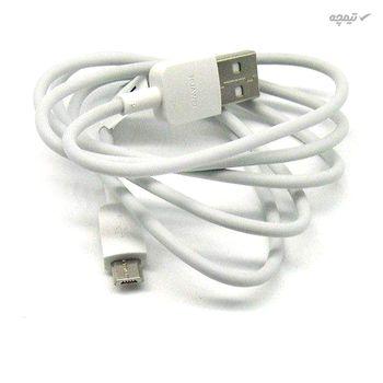 کابل تبدیل USB به microUSB مدل py0857 طول 1 متر بسته 5 عددی