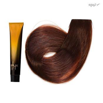 رنگ مو استایکس شماره 7.23 حجم 100 میلی لیتر رنگ بلوند فندوقی متوسط