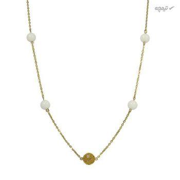 گردنبند طلا 18 عیار زنانه مانچو مدل sfgs001