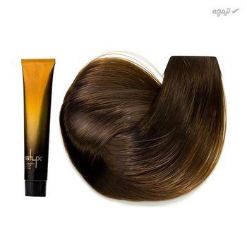 رنگ مو استایکس شماره 6.73 رنگ بلوند نسکافه ای تیره حجم 100 میلی لیتر