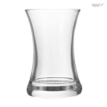 استکان شیشه ای مدل 140DIL65-G بسته 6 عددی