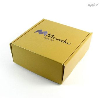 گوشواره طلا 18 عیار زنانه مانچو مدل efg004