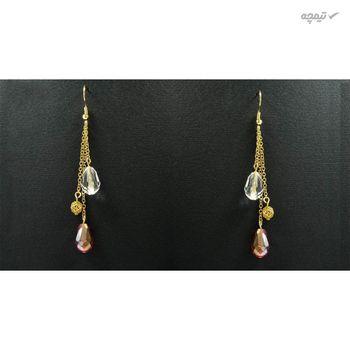گوشواره طلا 18 عیار زنانه مانچو مدل efg006