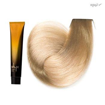 رنگ مو استایکس شماره 10.12 رنگ بلوند مرواریدی دودی بسیار روشن حجم 100 میلی لیتر