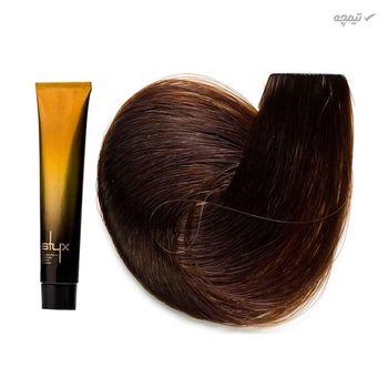 رنگ مو استایکس شماره 6.7 رنگ بلوند شکلاتی تیره حجم 100 میلی لیتر