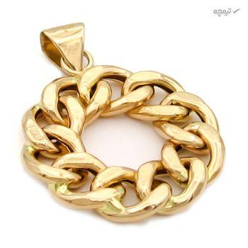 نیم ست طلا 18 عیار زنانه کاپانی کد KS001