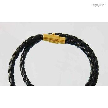 دستبند طلا 18 عیار گالری عدنان مدل DL14