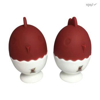 ظرف نگهدانده تخم مرغ گلد کیش مدل GK505447 بسته دو عددی