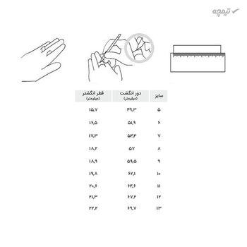 انگشتر زنانه مانچو کد R013