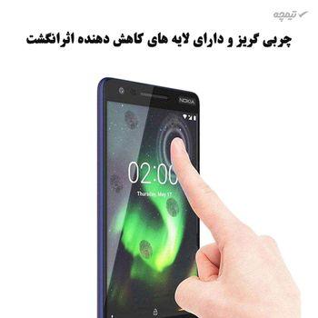 محافظ صفحه نمایش آکوا مدل NO مناسب برای گوشی موبایل نوکیا 3.1 بسته 3 عددی