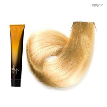 رنگ مو استایکس شماره 12.0 رنگ بلوند طبیعی فوق روشن حجم 100 میلی لیتر