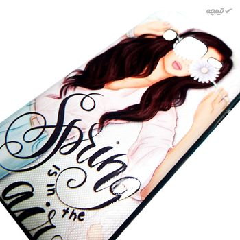 کاور گوشی موبایل طرح دختر کد CO983 مناسب برای سامسونگ Galaxy J5 2015