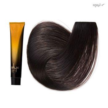 رنگ مو استایکس شماره 5 رنگ قهوه ای روشن حجم 100 میلی لیتر