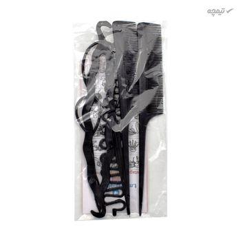 مجموعه ابزار بافت و بامتل مو مدل 2SH-STYL بسته 6 عددی