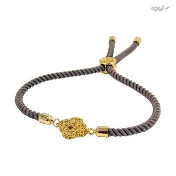 دستبند طلا 18 عیار زنانه مانچو کد bfg158