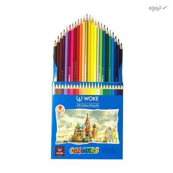 مداد رنگی 24 رنگ ووک مدل 9403B