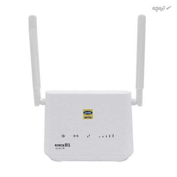 مودم 3G و 4G قابل حمل ایرانسل بی سیم و با سیم مدل i40 b1 به همراه 70 گیگ اینترنت 3 ماهه