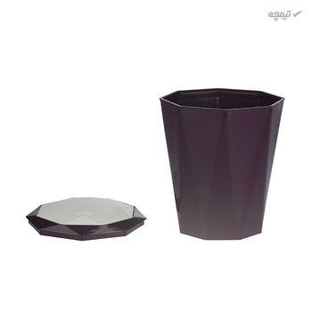سطل زباله در دار همارا سایز کوچک
