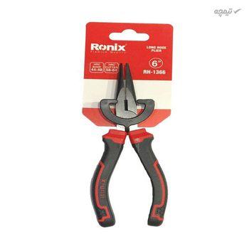 انبر دم باریک رونیکس مدل RH1366 سایز 6 اینچ