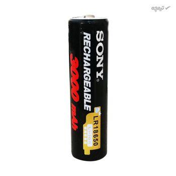 باتری لیتیوم-یون قابل شارژ سونی کد 18650 ظرفیت 3000 میلی آمپرساعت بسته 4 عددی