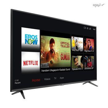 تلویزیون ال ای دی تی سی ال مدل 55P65US سایز 55 اینچ باکیفیت تصویر 4K