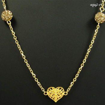 گردنبند طلا 18 عیار زنانه مانچو مدل sfgs002
