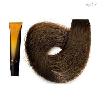 رنگ مو استایکس شماره 7 رنگ بلوند متوسط حجم 100 میلی لیتر