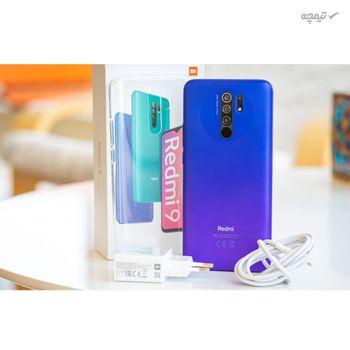 گوشی موبایل شیائومی مدل Redmi 9 دو سیمکارت، ظرفیت 64 گیگابایت با رم 4 گیگابایت