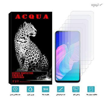 محافظ صفحه نمایش گوشی موبایل آکوا مدل MA مناسب برای هوآوی P40 LITE بسته 5 عددی