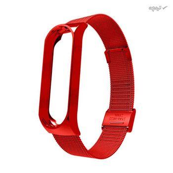 بند مدل Milanese مناسب برای مچ بند هوشمند شیائومی Mi Band 5
