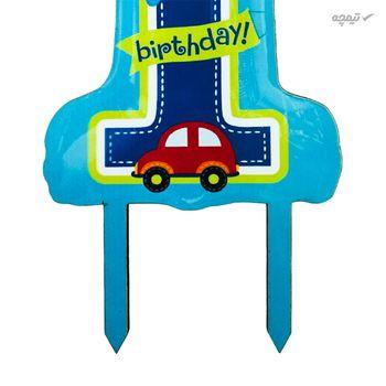 تاپر تزیین کیک مدل First Birthday Boy