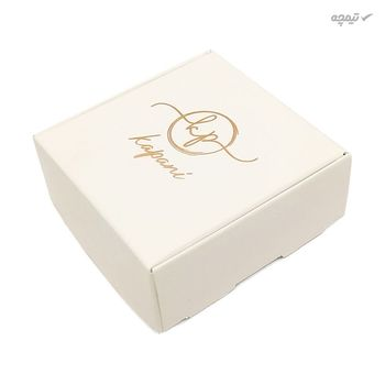 گوشواره طلا 18 عیار زنانه کاپانی مدل گل کد KE007