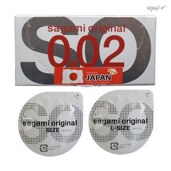کاندوم بسیار نازک ساگامی مدل Normal بسته 2 عددی
