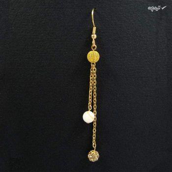 نیم ست طلا 18 عیار زنانه مانچو مدل SMG013