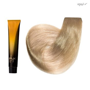 رنگ مو استایکس شماره 9S حجم 100 میلی لیتر رنگ بلوند شنی بسیار روشن