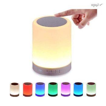 اسپیکر قابل حمل و لامپ هوشمند لمسی مدل lighten، بیسیم