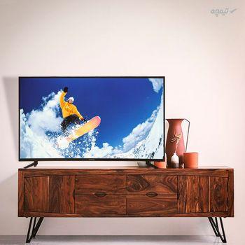 تلویزیون ال ای دی هوشمند پانورامیک مدل PA-55SA377 سایز 55 اینچ با کیفیت تصویر Ultra-HD 4K