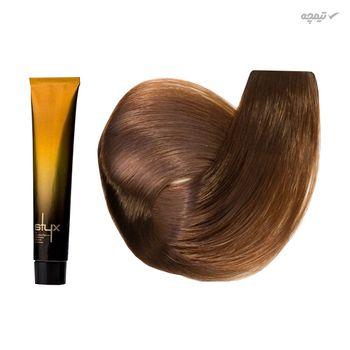 رنگ مو استایکس شماره 7.5 حجم 100 میلی لیتر رنگ بلوطی