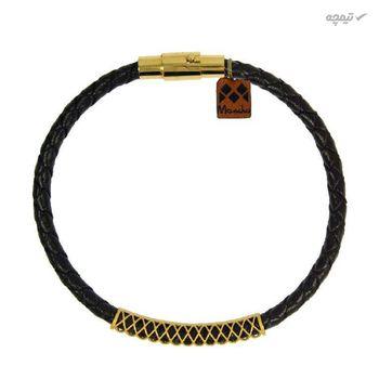 دستبند طلا 18 عیار زنانه مانچو کد bfg149-m