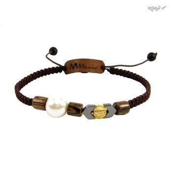 دستبند طلا 18 عیار مانچو مدل bfg053