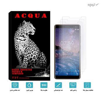 محافظ صفحه نمایش آکوا مدل MA مناسب برای گوشی موبایل نوکیا 7 plus بسته 3 عددی