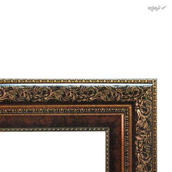 تابلو فرش ماشینی ماندگار طرح کوچه باغ کد 1910A